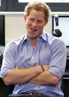 """FYI, Prince Harry """"really quite"""" hates Twitter."""