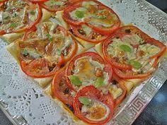 Maryams Culinary Wonders: 356. Easy Tomato Tarts