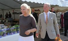 MYROYALS  FASHİON: Crown Princess Mette Marit attending the opening of Økofestivalen 2013 in Sande, Norway