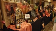 Beautiful Fall Decor Display Rally 2015
