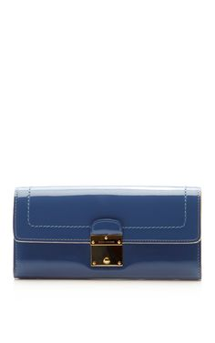 The 1984 Patent Double Groove Wallet by Marc Jacobs Now Available on Moda Operandi