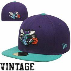 fa5fb992e1d Charlotte Hornets Vintage Hats