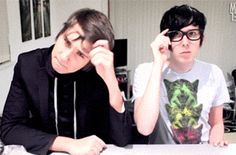 """This isn't a loreal advert you twit"".. Phil is me trying to sexily flip my hair"