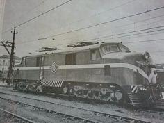 #EFSJ Locomotiva elétrica da Estrada de Ferro Santos a Jundiaí, fabricada em 1949 pela English Electric!!!