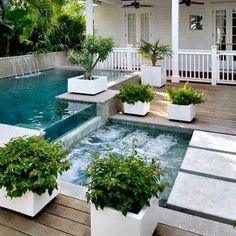 Having a pool in your backyard can be a great recreational avenue for the whole family. Match a beautiful garden […] hinterhof pool jacuzzi 43 Cozy Swimming Pool Garden Design Ideas - HOMEWOWDECOR