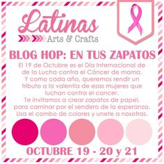 Latinas Arts and Crafts: Blog Hop: En Tus Zapatos