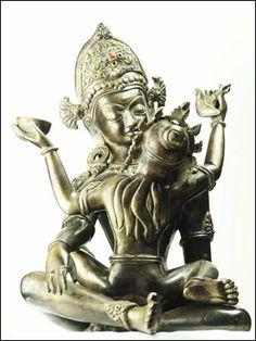 47215-仏像「歓喜仏 インドラ(帝釈天)」