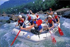 White Water Rafting near New River Gorge WV