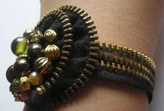 Jewels of Sayuri: Zipper Jewelry tutorials