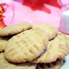 Eggless Peanut Butter Cookies Recipe on Yummly