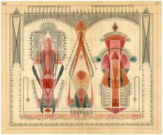 Louise Despont sketches #red #orange