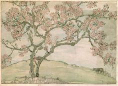 Jessie M King apple blossom