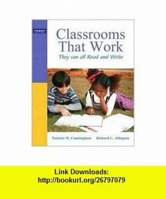 Classrooms that Work 5th (fifth) edition Text Only Patricia M. Cunningham ,   ,  , ASIN: B004QIW3WU , tutorials , pdf , ebook , torrent , downloads , rapidshare , filesonic , hotfile , megaupload , fileserve