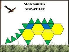 Blocks Dinosaur Puzzles Dinosaur Pattern Block PuzzleDinosaur Pattern Block Puzzle Dinosaur Pattern Block Puzzles Pattern Blocks Seasons Puzzles by A Thinker's Toolbox Dinosaur Puzzles, Preschool Dinosaur, Math Activities, Teacher Resources, Primary Resources, Dinosaur Pattern, Thing 1, Pattern Blocks, Math Lessons