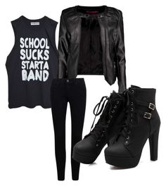 """Beat It"" by beccagarrett ❤ liked on Polyvore featuring Boohoo"