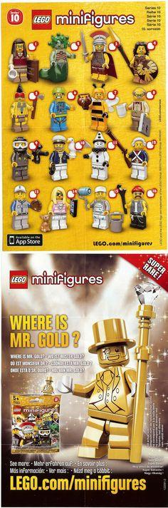 LEGO 71001 - LEGO Collectable Minifigures Series 10