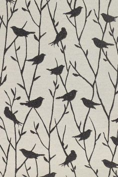 Gray bird material from homedecorators.cim...headboard material?
