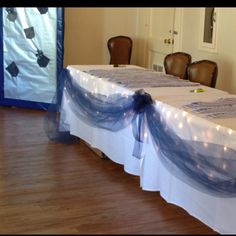 Entry tables, Denim to Diamonds Auction- Carlisle Barracks, Army War College