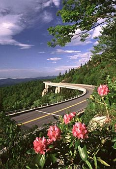 Blue Ridge Parkway drove this a few times between 1975 and 1979.  A beautiful road.