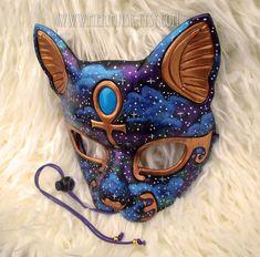 Starry Night Bast #1 by merimask.deviantart.com on @DeviantArt