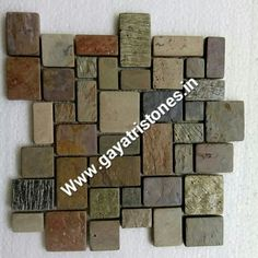 # colorful slate mosaic