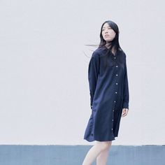 Comfortable enough to relax at home but stylish enough to wear outside: organic cotton flannel shirt dress. Flannel Shirt, Organic Cotton, Relax, Shirt Dress, Stylish, Coat, How To Wear, Jackets, Dresses