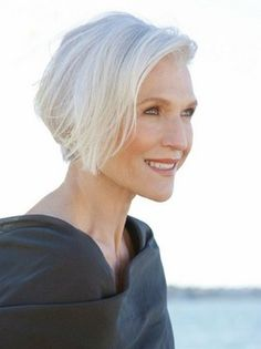 I love it when older women embrace their grey/white hair and don't dye the crap out of it.