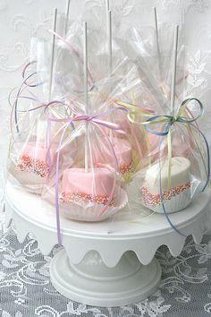 Spring Marshmallow Pops | Flickr: Intercambio de fotos