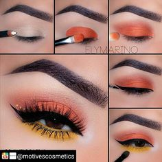 Motives® Khol Eyeliner - Angel - make_up_pintennium Makeup Eye Looks, Eye Makeup Steps, Cute Makeup, Skin Makeup, Eyeshadow Makeup, Makeup Brushes, Eyeshadow Ideas, Eyeliner Ideas, Gorgeous Makeup