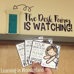 To say that today was a magical day, would be the understatement of the century. I'll be blogging all about how the desk fairy found her way into our classroom! @teachcreatemotivate's desk fairy notes will go perfectly with this idea   #teachersfollowteachers #iteachtoo #bestclassroomever #teacherspayteachers