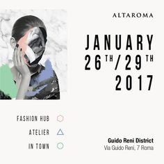 #Altaroma january 26th 29th in #Rome #Fashionhub #Atelier #Intown