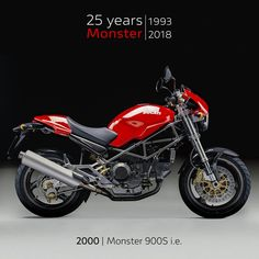The Monster i. was the first Monster toThe Monster i. was the first Monster to switch from carburetor to electronic injection for better performance, better engine response an Ducati 695, Bike Woman, Ducati Monster 821, Street Tracker, Toys For Boys, Classic, Vehicles, Engine, Motorcycles