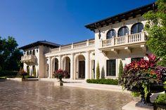Tuscan Style Villa Mansion