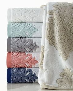 Roma Towels by Kassatex at Horchow.