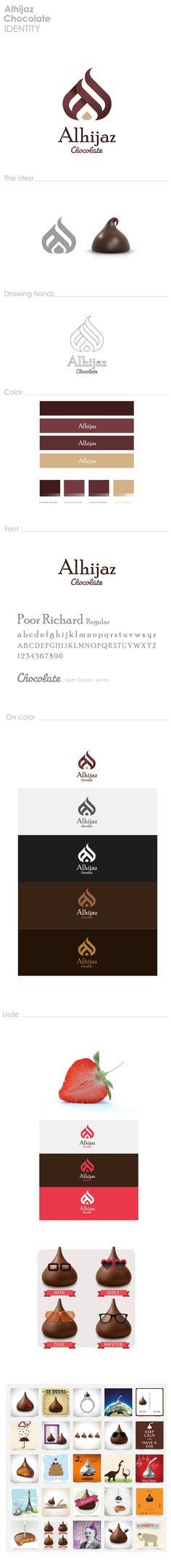 Alhijaz Chocolate by Ahmad Nabil, via Behance