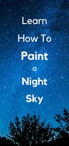 Learn how to paint a night sky with stars. In this tutorial you will get an in depth overview of master paintings done of night skies and learn how they were created. Included is a step by step tutorial of how to paint your own night sky painting. How to paint stars, how to paint a night time sky. Painting a night sky for beginners. oil painting tutorial. Learn how to paint. #oilpaintingtutorial Night Sky Painting, Step By Step Painting, Dark Skies, Star Sky, Saturated Color, Muted Colors, Art Classroom, Learn To Paint, Your Paintings