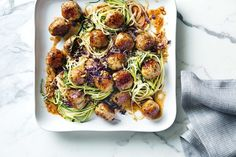 Shannon Bennett takes the stress out of cooking family dinners with this fast and easy chicken meatball recipe.