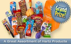 Enter for a chance to Play Hartz Spin to Win Sweepstakes - Coupon Hauls