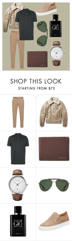"""""""💼🕶👞"""" by seyidli-mehri ❤ liked on Polyvore featuring Gucci, Tomas Maier, Polo Ralph Lauren, Burberry, Georg Jensen, Giorgio Armani, Supply Lab, men's fashion and menswear"""
