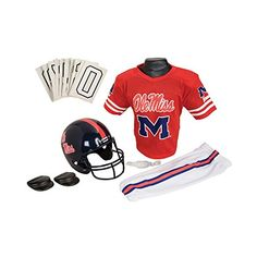Franklin Sports NCAA Medium Mississippi Deluxe Uniform Set ** Check out this great product.Note:It is affiliate link to Amazon.