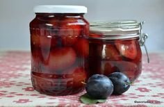 Preserves, Vinegar, Pickles, Cucumber, Plum, Salsa, Mason Jars, Roman, Canning