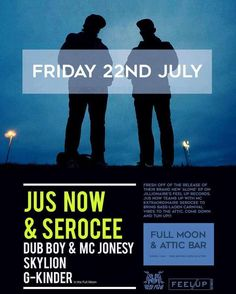 TONIGHT! Join @jusnowproduction with MC extraordinaire @serocee at The Attic for base-laden carnival vibes. FREE before 9pm. #BRISTOL PULL UP!