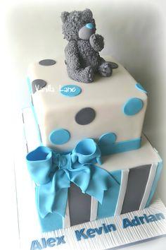 Baby Shower - Christening cake.