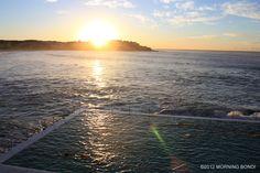 Sunrise on the Bondi Icebergs by Morning Bondi