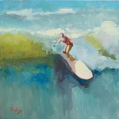 Artists Of Texas Contemporary Paintings and Art - The Longboard