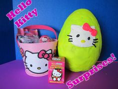 Giant Hello Kitty Surprise Egg.  Watch the fun unfold in this child friendly video!