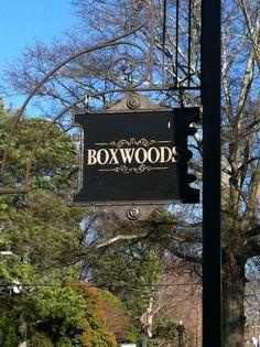 Boxwoods, Atlanta, GA