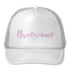 #bride - #Dolphin Beach Bridesmaid Trucker Hat