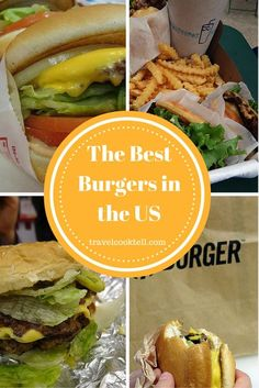 The Best Burgers in the US | Travel Cook Tell