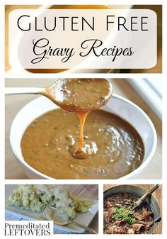 7 Gluten-Free Gravy Recipes- Making gluten-free gravy is not as hard as you would imagine. Enjoy these recipes with your favorite roast or holiday turkey.